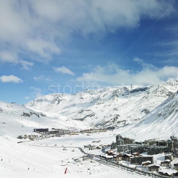 Val Claret, Tignes, Alps Mountains, Savoie, France Stock photo © phbcz