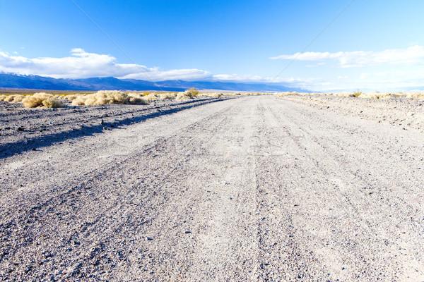 Estrada morte vale parque Califórnia EUA Foto stock © phbcz