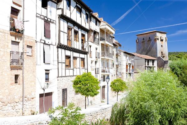 Covarrubias, Castile and Leon, Spain Stock photo © phbcz