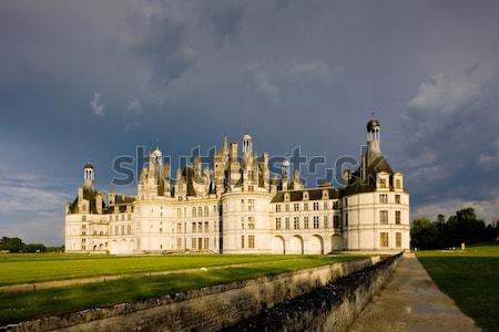Chambord chateau, Loire Valley, France Stock photo © phbcz