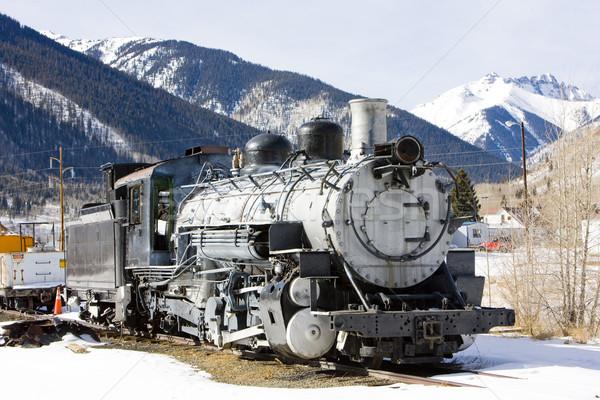 Vieux Colorado USA hiver Voyage Photo stock © phbcz