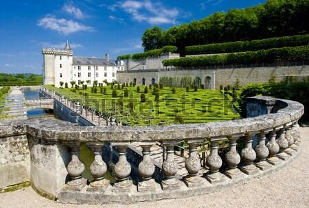 Villandry Castle with garden, Indre-et-Loire, Centre, France Stock photo © phbcz
