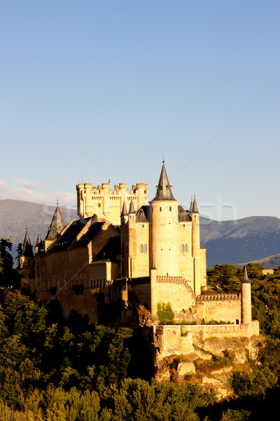 Stock photo: Alcazar fortress, Segovia, Castile and Leon, Spain