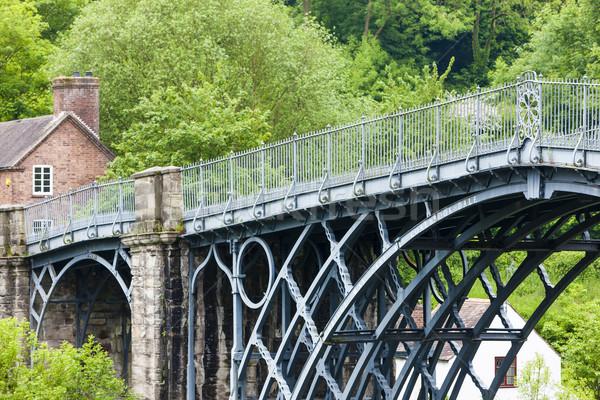 Англии металл моста путешествия архитектура Европа Сток-фото © phbcz
