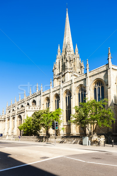 St Mary''s University Church, Oxford, Oxfordshire, England Stock photo © phbcz