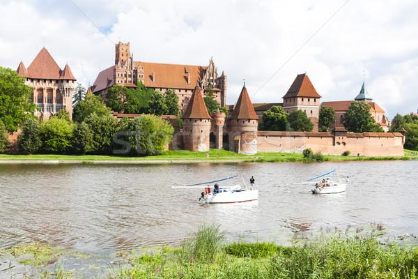 Malbork, Pomerania, Poland Stock photo © phbcz