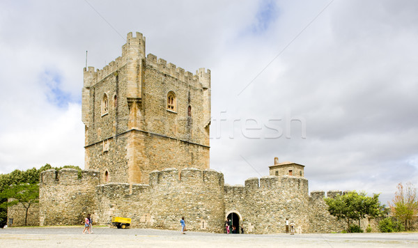 Torre da Menagem, citadela of Braganca, Tras-os-Montes Province, Stock photo © phbcz