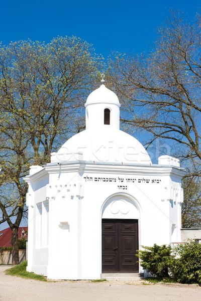 Mezarlık Çek Cumhuriyeti Bina mimari Avrupa mezarlık Stok fotoğraf © phbcz