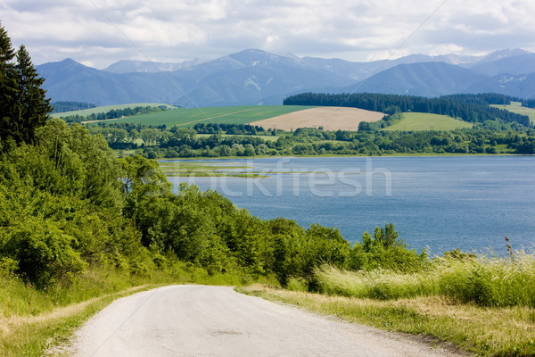 Liptovska Mara, Slovakia Stock photo © phbcz