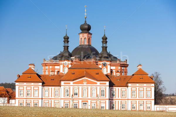 チェコ共和国 教会 アーキテクチャ ヨーロッパ 屋外 歴史的 ストックフォト © phbcz