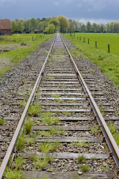 rails, Boekelo - Haaksbergen, Netherlands Stock photo © phbcz