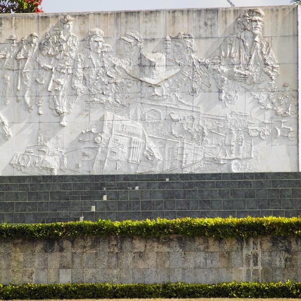 Che Guevara Monument, Plaza de la Revolution, Santa Clara, Cuba Stock photo © phbcz