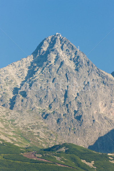 Lomnicky Peak, Vysoke Tatry (High Tatras), Slovakia Stock photo © phbcz