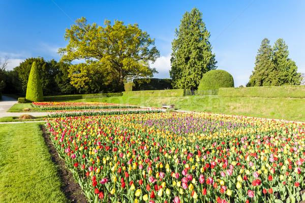 Stock photo: garden of Lednice Palace, Czech Republic