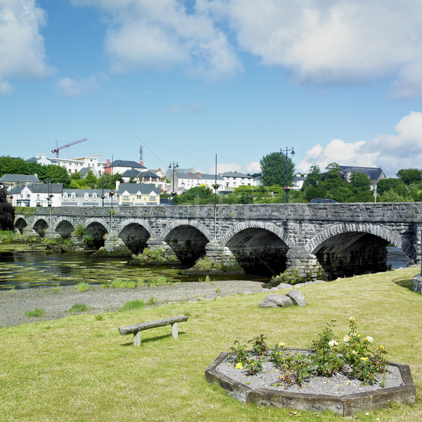 Killorglin, County Kerry, Ireland Stock photo © phbcz