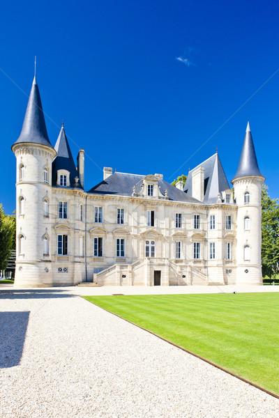 Stock fotó: Bordeau · régió · Franciaország · épület · utazás · építészet