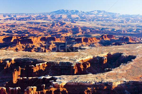 Stok fotoğraf: Park · Utah · ABD · manzara · kayalar · sessizlik