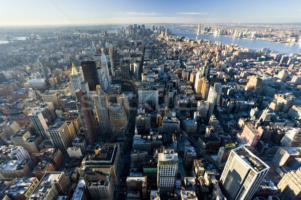 Ver manhattan Empire State Building New York City EUA edifício Foto stock © phbcz