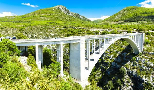 Pont de l''Artuby, Verdon Gorge, Provence, France Stock photo © phbcz