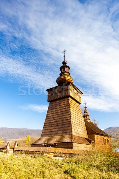 Igreja Eslováquia arquitetura europa ao ar livre Foto stock © phbcz