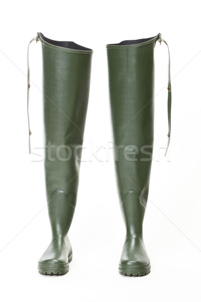 fishing Wellingtons Stock photo © phbcz