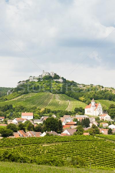 Ruinas castillo bajar Austria casa edificio Foto stock © phbcz