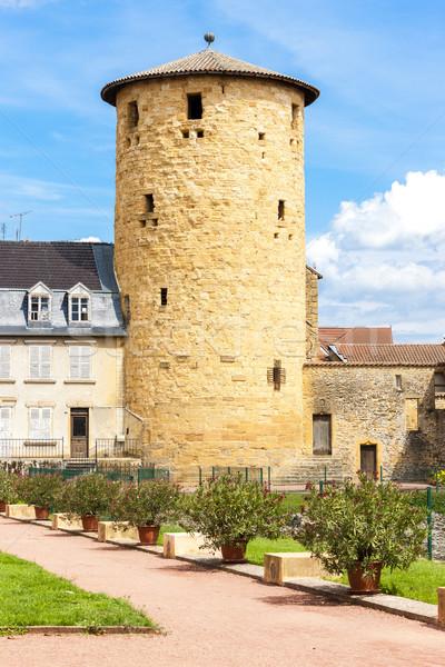 Afdeling Frankrijk gebouw architectuur toren buitenshuis Stockfoto © phbcz
