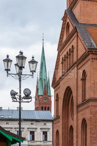Evangelical Church, Torun, Kuyavia-Pomerania, Poland Stock photo © phbcz