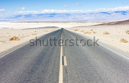 Stock photo: road, Death Valley National Park, California, USA