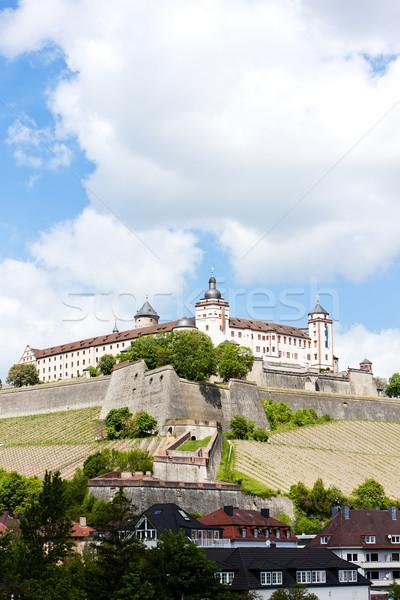 Fortaleza Alemania edificio viaje arquitectura historia Foto stock © phbcz
