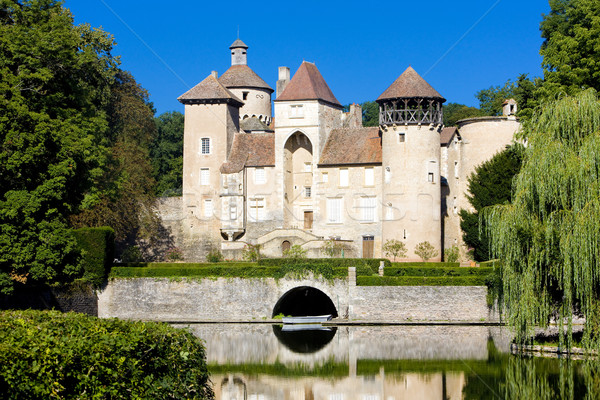 Sercy Castle, Burgundy, France Stock photo © phbcz