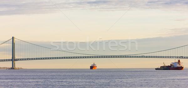 bridge, Upper New York Bay, USA Stock photo © phbcz