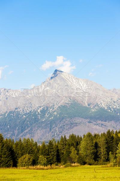 Krivan Mountain, Vysoke Tatry (High Tatras), Slovakia Stock photo © phbcz