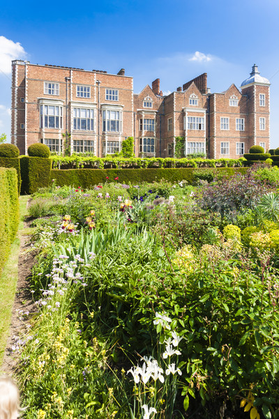 Hatfield House with garden, Hertfordshire, England Stock photo © phbcz