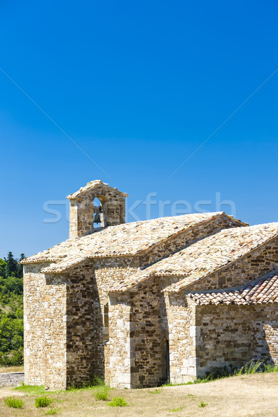 Chapelle France bâtiment Voyage architecture Europe Photo stock © phbcz