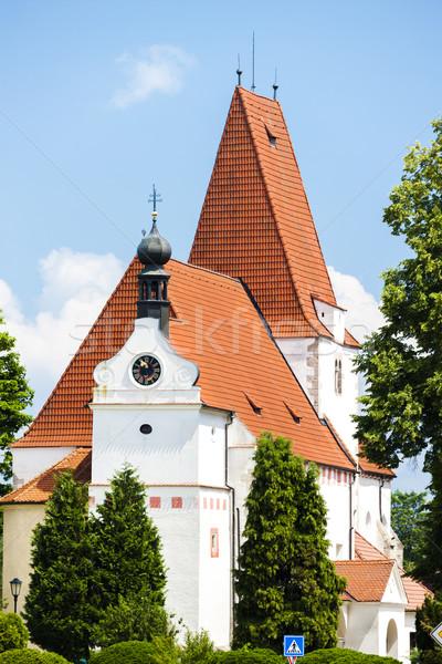 church of Saint Nicholas, Horni Stropnice, Czech Republic Stock photo © phbcz
