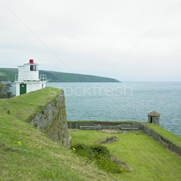 форт пробка Ирландия здании свет Маяк Сток-фото © phbcz