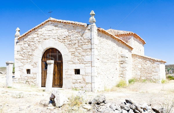 Hermitage of Cristo le San Estaban, Castile and Leon, Spain Stock photo © phbcz