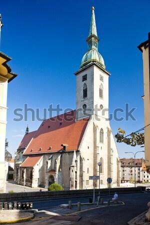 Cathédrale saint Bratislava Slovaquie ville église Photo stock © phbcz
