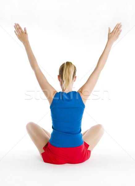 Stock fotó: Testmozgás · nő · fitnessz · egészség · sportok · fiatal