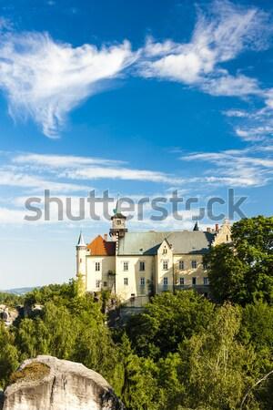 pilgrimage church at Calvary, Banska Stiavnica, Slovakia Stock photo © phbcz