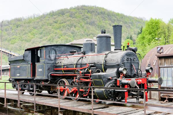 steam locomotive, Resavica, Serbia Stock photo © phbcz