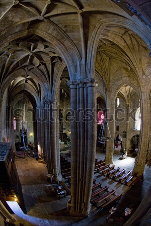 interior of Cathedral of Santa Maria, Caceres, Extremadura, Spai Stock photo © phbcz