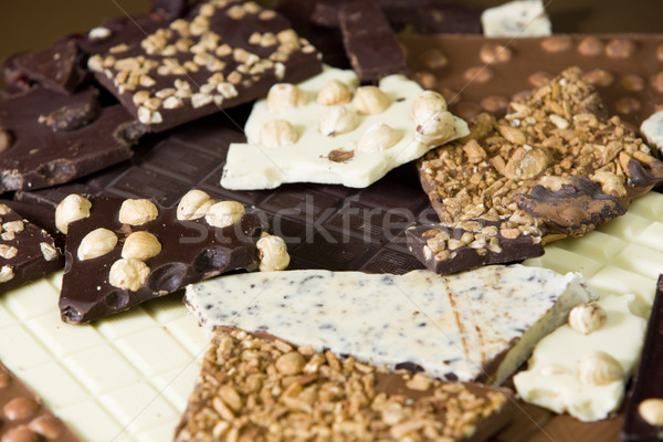 chocolate bars Stock photo © phbcz