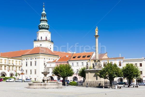 Stock photo: Archbishop's Palace, Kromeriz, Czech Republic