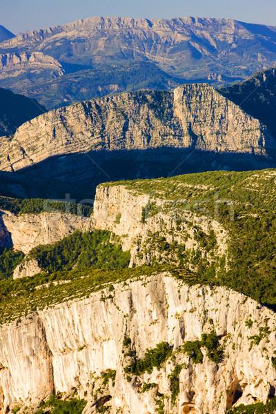 Verdon Gorge, Provence, France Stock photo © phbcz