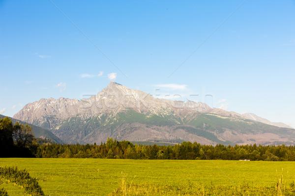 Foto stock: Montanha · alto · Eslováquia · paisagem · montanhas · europa