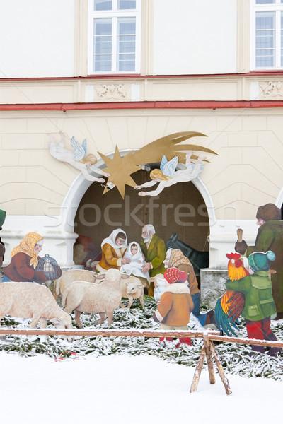 crib, Nove Mesto nad Metuji, Czech Republic Stock photo © phbcz