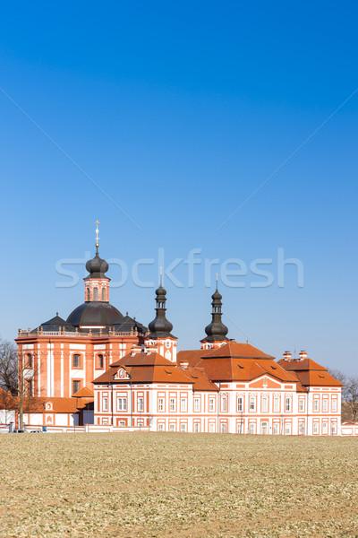 República Checa igreja arquitetura europa ao ar livre histórico Foto stock © phbcz