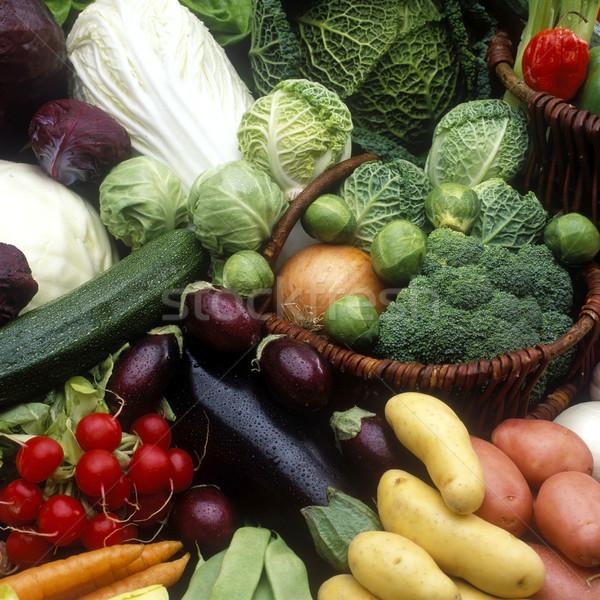 Hortalizas naturaleza muerta pimienta vegetales nutrición Foto stock © phbcz